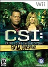CSI: Fatal Conspiracy for Wii last updated Sep 18, 2013