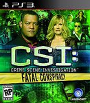 CSI: Fatal Conspiracy PS3