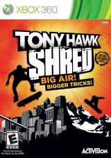 Tony Hawk: Shred Xbox 360