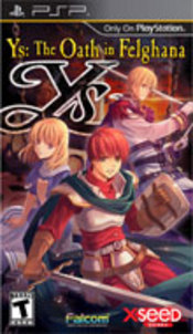 Ys: The Oath in Felghana PSP