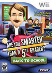 Are You Smarter Than a 5th Grader? Back to School Wii