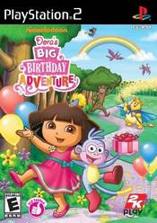 Dora's Big Birthday Adventure PS2