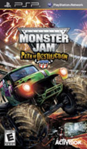 Monster Jam: Path of Destruction PSP