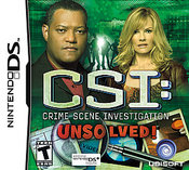 CSI: Crime Scene Investigation - Unsolved! DS