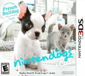 Nintendogs + Cats: French Bulldog 3DS