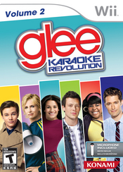 Karaoke Revolution Glee: Volume 2 Wii