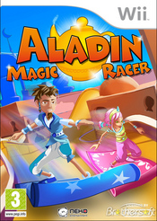 Aladdin Magic Racer Wii