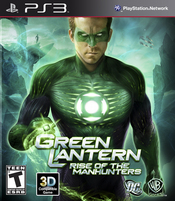 Green Lantern: Rise of the Manhunters PS3