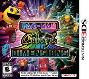 Pac-Man and Galaga Dimensions 3DS