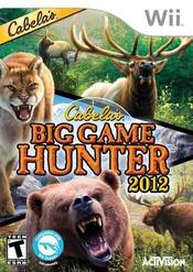 Cabela's Big Game Hunter 2012 Wii