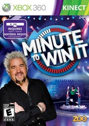 Minute to Win It Xbox 360