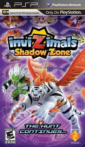 Invizimals: Shadow Zone PSP