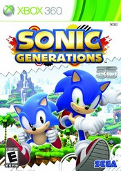 Sonic Generations for Xbox 360 last updated Aug 11, 2013