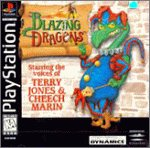 Blazing Dragons PSX
