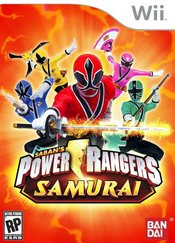 Power Rangers Samurai Wii