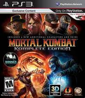 Mortal Kombat Komplete Edition for PlayStation 3 last updated Jan 18, 2013