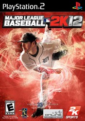 Major League Baseball 2k12 PS2