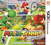 Mario Tennis Open for 3DS last updated Sep 04, 2012