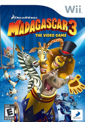 Madagascar 3: The Video Game Wii