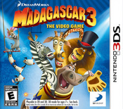 Madagascar 3: The Video Game 3DS