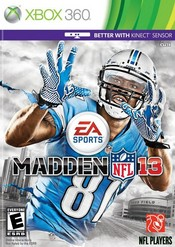 Madden NFL 13 for Xbox 360 last updated Dec 17, 2013