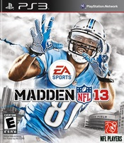 Madden NFL 13 for PlayStation 3 last updated Dec 17, 2013