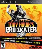 Tony Hawk's Pro Skater HD PS3
