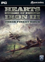 Hearts of Iron III: Their Finest Hour PC
