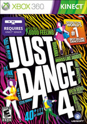 Just Dance 4 for Wii last updated Oct 12, 2012
