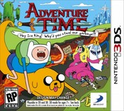 Adventure Time: Hey Ice King! Why'd You Steal Our Garbage?! 3DS