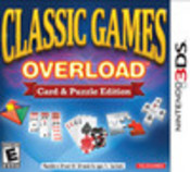 Classic Games Overload: Card and Puzzle Edition 3DS