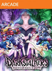 Darkstalkers Resurrection Xbox 360