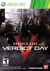 Armored Core: Verdict Day Xbox 360