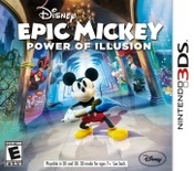 Disney Epic Mickey: Power of Illusion 3DS