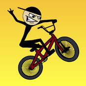 Stickman BMX iPhone