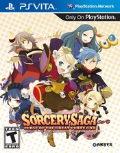 Sorcery Saga: The Curse of the Great Curry God PS Vita