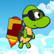 JetPack Turtle - Splash Flyer iPhone