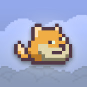 Dumpy Doge - The Adventure of 1Touch Flying Dog iPhone