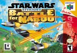 Star Wars: Episode 1 - Battle For Naboo N64