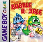 Classic Bubble Bobble Game Boy
