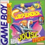 Arcade Classic 4: Defender/Joust Game Boy