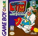 Earthworm Jim: Menace 2 The Galaxy Game Boy