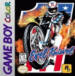 Evel Knievel Game Boy