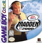 Madden NFL 2000 Game Boy