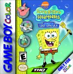 Spongebob Squarepants: Legend of the Lost Spatula Game Boy