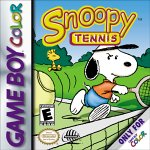 Snoopy Tennis Game Boy