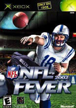 NFL Fever 2002 for Xbox last updated Apr 16, 2004