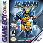 X-Men: Wolverine's Rage Game Boy