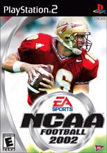NCAA Football 2002 for PlayStation 2 last updated May 26, 2002
