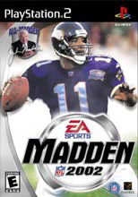 Madden NFL 2002 for PlayStation 2 last updated Sep 30, 2002